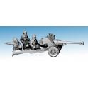 Artizan Designs SWW521 British Airbourne 6 Pounder AT Gun
