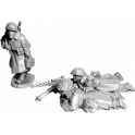 Artizan Designs SWW356 US Infantry in Greatcoats .30cal Team