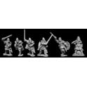 Artizan Designs VIK007 Viking Hirdmen with Hand Weapons