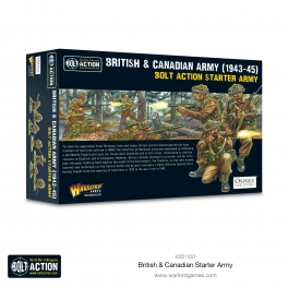 Warlord 402011021 Starter Armée britannique et canadienne 1943-45
