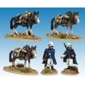 Artizan Designs MOD037 Legion Mounted Company Mule holders.