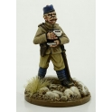 Artizan Designs NWF0010a British Officer with Cup of Tea.