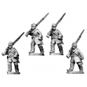 Crusader Miniatures ACW001 ACW Infantry in Frock Coat and Kepi Marching
