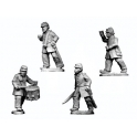 Crusader Miniatures ACW004 ACW Infantry Command in Frock Coat and Kepi.