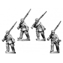 Crusader Miniatures ACW011 ACW Infantry in Jacket and Kepi Marching