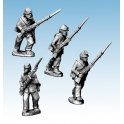 Crusader Miniatures ACW012 ACW Infantry in Jacket and Kepi Advancing/ Charging