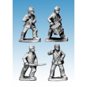 Crusader Miniatures ACW015 ACW Infantry Command in Jackets and Kepi