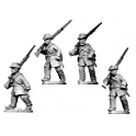 Crusader Miniatures ACW041 ACW Infantry in Frock Coat and Hardee Hat Marching