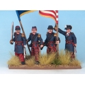 Crusader Miniatures ACW101 79th New York Infantry Command