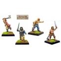 Crusader Miniatures DAV009 Berserkers