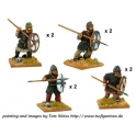 Crusader Miniatures DAS007 Saxon Thegns with Spears