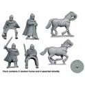 Crusader Miniatures DAS010 Saxon Personalities Harold & Tostig Godwinson
