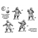 Crusader Miniatures DAV005 Thralls with Spears/Javelins