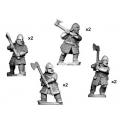 Crusader Miniatures DAV007 Hirdmen with 2 handed axes