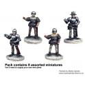 Crusader Miniatures MEW002 Armoured Pikemen