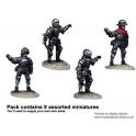 Crusader Miniatures MEW003 Pikemen in Full Plate