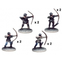 Crusader Miniatures MEW004 Armoured Longbowmen