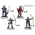Crusader Miniatures MEW005 Longbowmen