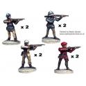 Crusader Miniatures MEW006 Handgunners