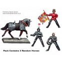 Crusader Miniatures MEW101 Mounted Men-at-Arms Command
