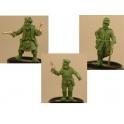 Crusader Miniatures CCW001 Foreigners - Alphonse, Mad Jock, Baron Otto