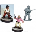 Crusader Miniatures CCW002 The Joe Gang - Big Joe, Little Joe, Ugly Kid Joe