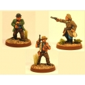 Crusader Miniatures CCW003 Wild West - Outlaws