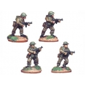 Crusader Miniatures WWB004 British Infantry with Thompson SMGs