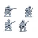 Crusader Miniatures WWB006 British Riflemen kneeling
