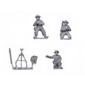 Crusader Miniatures WWB010 British 3inch Mortar and crew