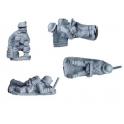 Crusader Miniatures WWB013 British 2inch Mortar Teams