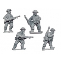 Crusader Miniatures WWB103 Late War British Bren Gun Teams