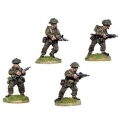Crusader Miniatures WWB104 Late British Infantry with Sten SMG