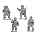 Crusader Miniatures WWB105 Late British Infantry Command