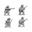 Crusader Miniatures WWB106 Late British Riflemen kneeling