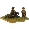 Crusader Miniatures WWB111 Late British Vickers MG and crew (1 MG, 3 crew)