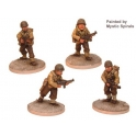 Crusader Miniatures WWU003 US Infantry with Thompson SMG