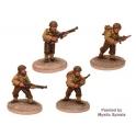 Crusader Miniatures WWU004 US Infantry BAR Teams