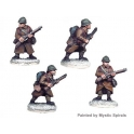 Crusader Miniatures WWF001 French Riflemen I