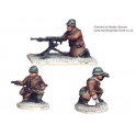 Crusader Miniatures WWF010 French Hotchkiss HMG (1 HMG. 3 crew)