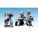 Crusader Miniatures WWF060 French M/C Troop Hotchkiss HMG