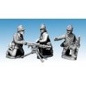 Crusader Miniatures WWF080 Dragon Portes HMG & Crew