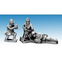 Crusader Miniatures WWF081 Dragon Portes 60mm Mortar & Crew