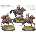 Crusader Miniatures WWG051 German Cavalry in Side Caps