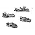 Crusader Miniatures WWG111 Fallschirmjager 5cm Mortar and AT Rifle