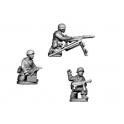 Crusader Miniatures WWG112 Fallschirmjager Static MG34