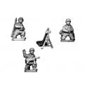 Crusader Miniatures WWG113 Fallschirmjager 8cm Mortar