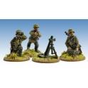 Crusader Miniatures WWG161 German Schutzen Firing 8cm Mortar
