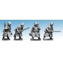 Crusader Miniatures WWG173 German Infantry in Greatcoats (LMG Teams)