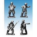 Crusader Miniatures WWP054 Partisan commanders